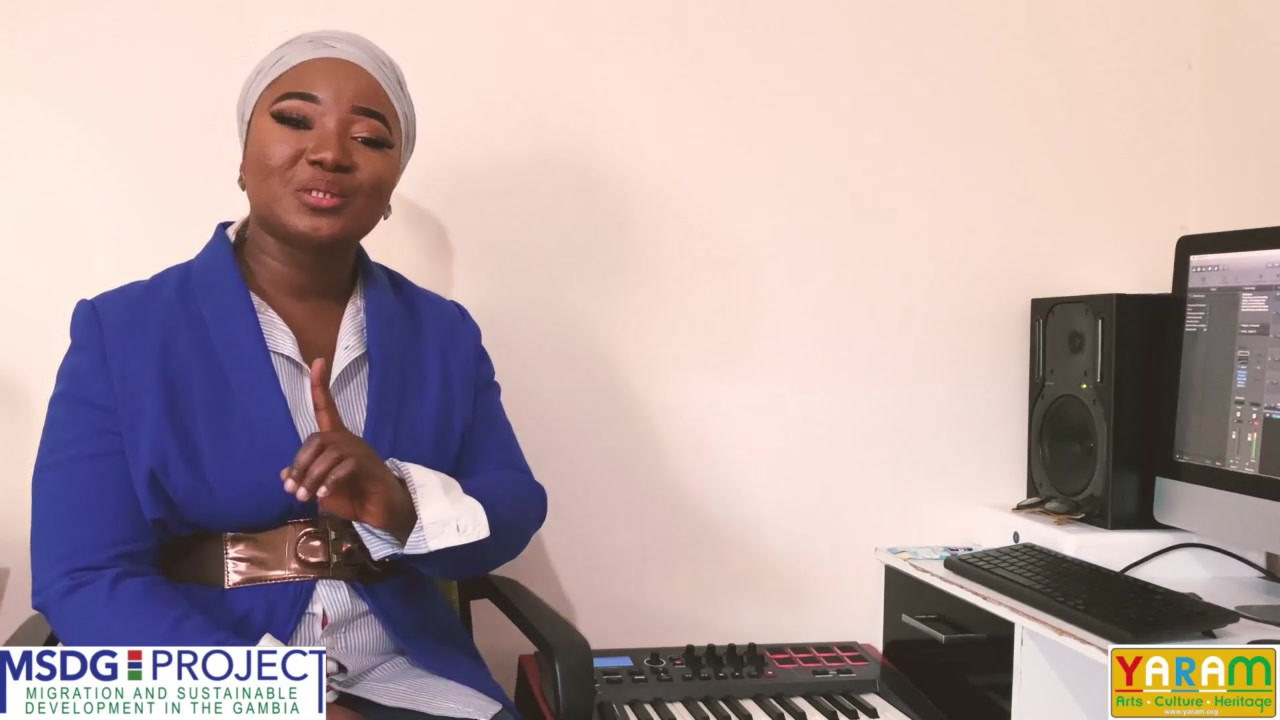 Gambian Lullabies Volume 1 - MSDG-YARAM