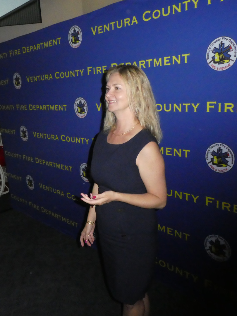 Speaking at Ventura County Fire Department