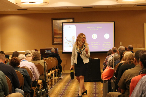 Lena Giffoni speaking at AACC.JPG