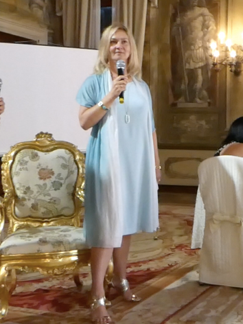 Speaking at a Retreat in Venice,Italy