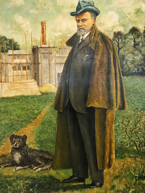F. A. Molijn schilderij