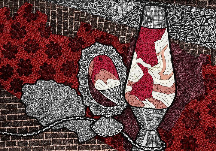Radiant Love - Digital Illustration Print
