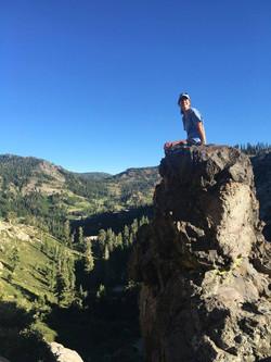 Hiking in Tahoe