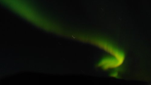 Finding the Northern Lights in Iceland