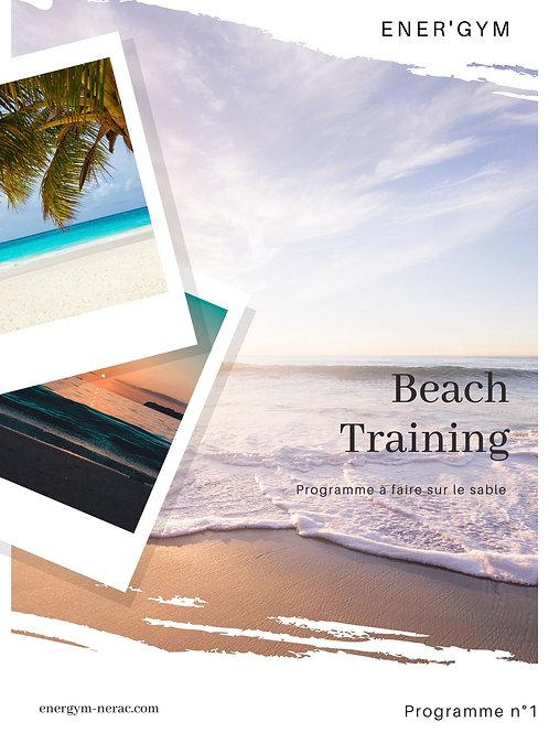 Beach training 1
