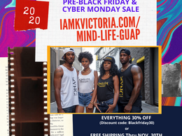 Get Your Mind-Life-Guap! Black Friday/Cyber Monday Sale