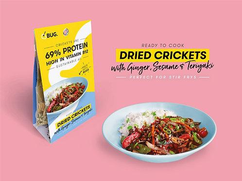 Teriyaki Cricket Stir Fry