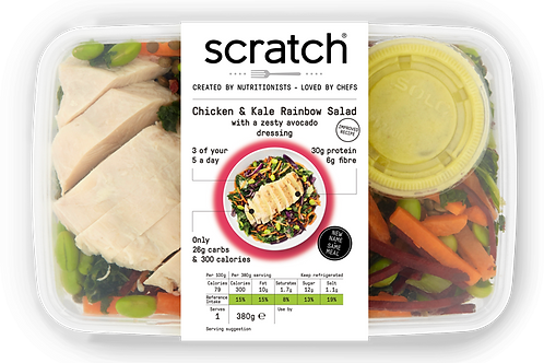 Chicken Rainbow Salad | Scratch Meals