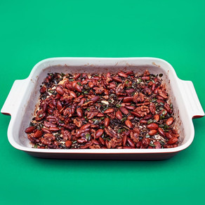 SWEET 'N' SPICY NUTS & MEALWORMS