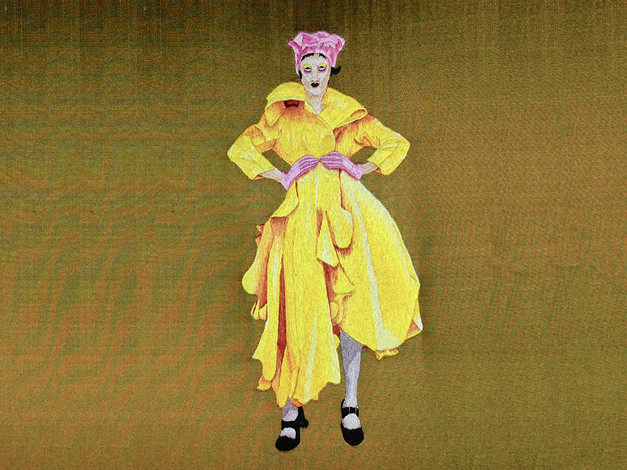 The Yellow Coat | Tapestry Shading