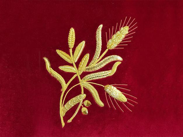 Commonwealth Sprig| Coronation Goldwork