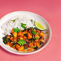 SQUASH & CRICKET TIKKA CURRY