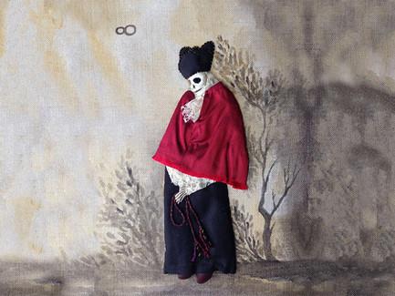 Death | Stumpwork Figure