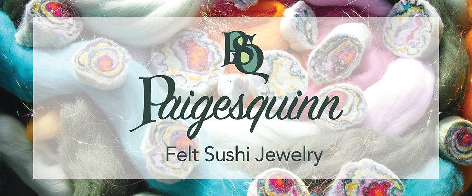 Felt Sushi Jewelry Banner