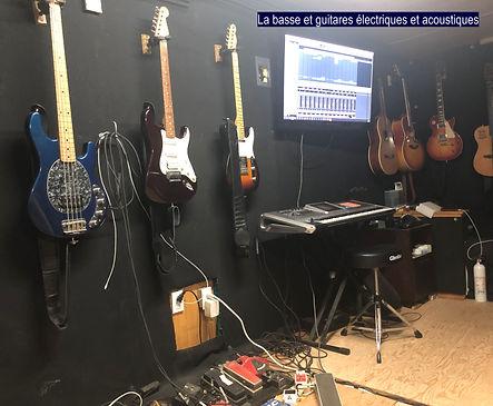 Basse et guitares.jpg