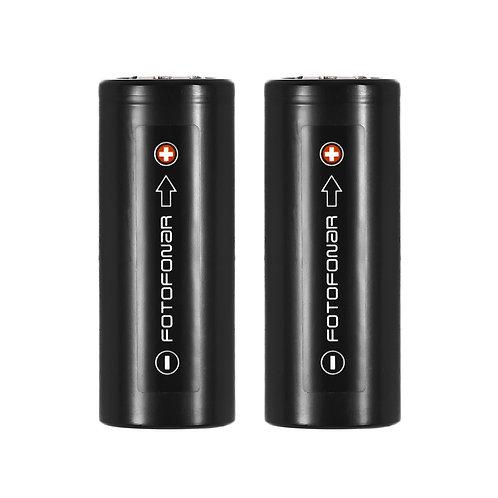 Аккумуляторные батареи KeepPower 26650, 5500 мАч (2 шт.)