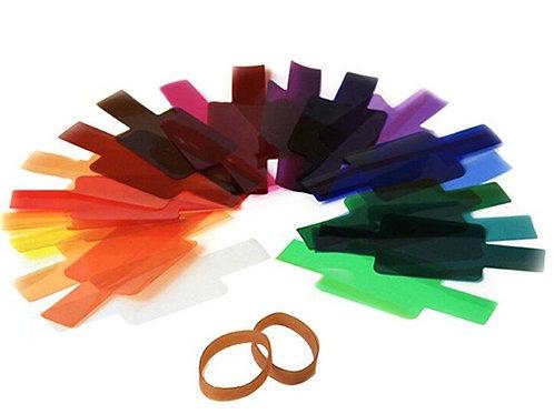 Гелевые цветные фильтры (19 шт.)
