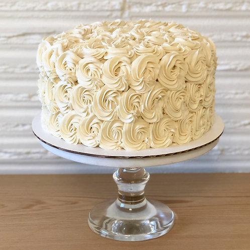 Gluten Free Luscious Lemon Layer Cake