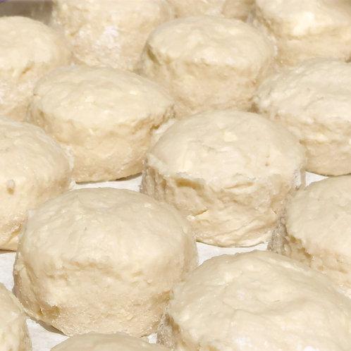 Gluten Free Buttermilk Biscuits - Unbaked Frozen