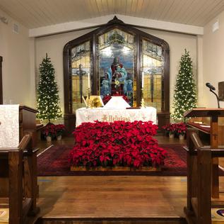 COVID Christmas Eve Service 6:00 pm Service