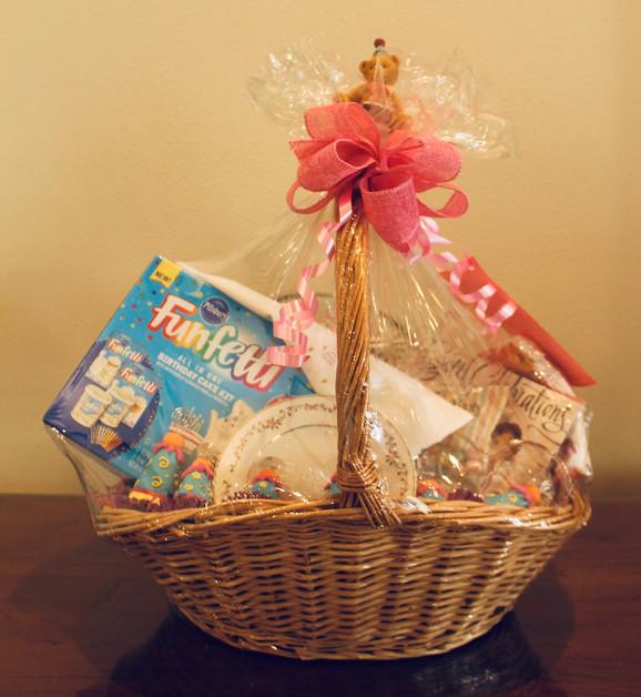 The Birthday Basket. (#14). Min. Bid: $50.  Buy It Now: $90.00