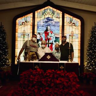 Church Elves Prepare for Christmas 2020