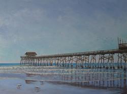 Pier with Gulls