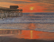 Sunrise Cocoa Beach Pier