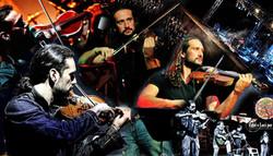 Collage Claudio Merico Violino