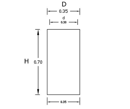 Dimensiones Torre 70