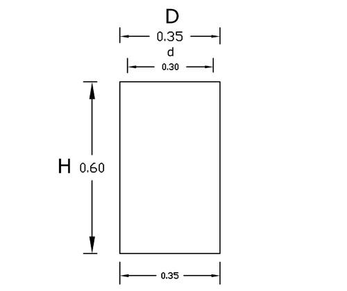 Dimensiones Torre 60