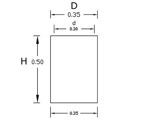 Dimensiones Torre 50