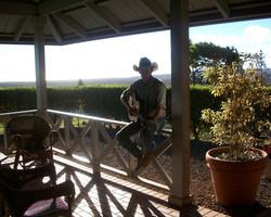 Cowboy in Hawaii