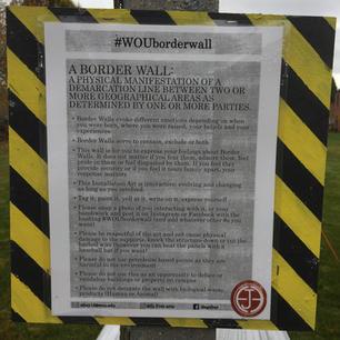 #WouBorderWall