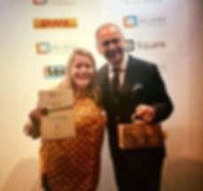 Emily and Theo Paphitis SBS Winner