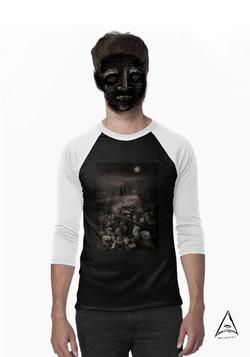 """The walk"" Baseball ¾ Sleeve T-Shirt"