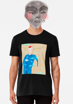 """""""Luke in the Sky with Demons"""" Classic T-Shirt"""