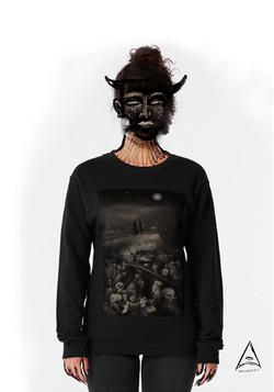 """The walk"" pullover sweatshirt"