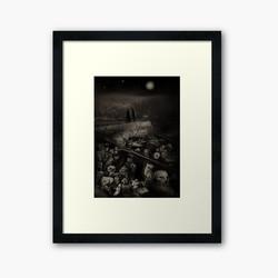 """""""The walk"""" framed art print"""