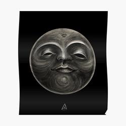 """""""Voodoo moon"""" poster"""