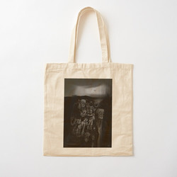 """Mrs. Apocalypse"" cotton bag"