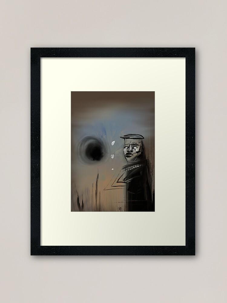 """""""Fee"""" framed art print"""