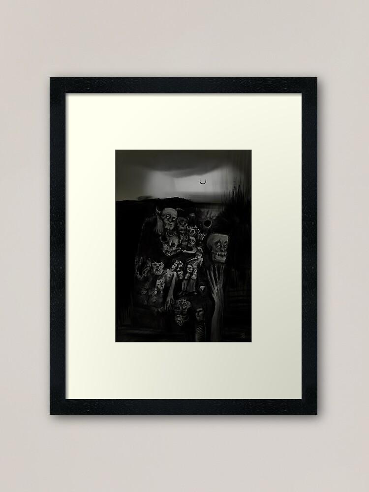 """""""Mrs. Apocalypse"""" Framed Art Print"""