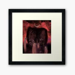 """""""Time to go"""" framed art print"""