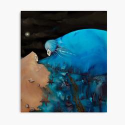 """The Hug"" Canvas Print"