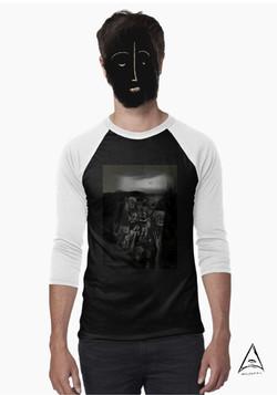 """Mrs. Apocalypse"" Baseball ¾ Sleeve T-Shirt"