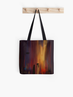 """""""Abstract lullaby"""" Tote Bag"""