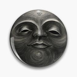 """Voodoo moon"" Pin"