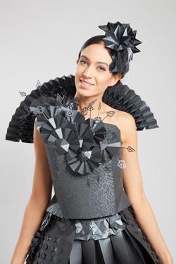 origami dress 2