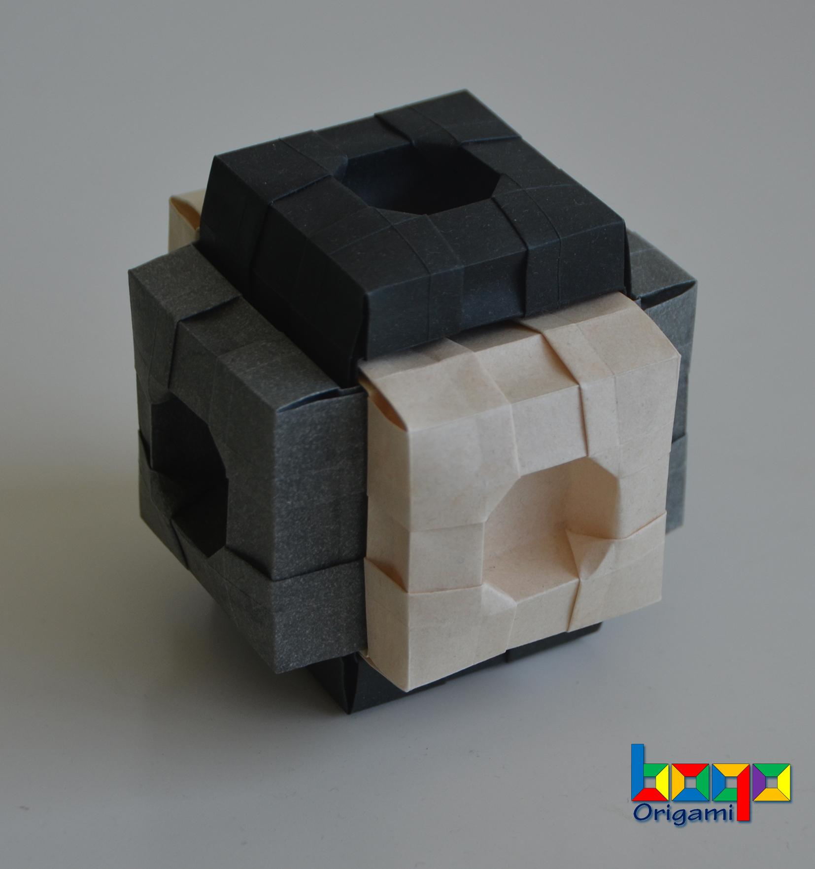 Modular Cube - 1 elephant hide